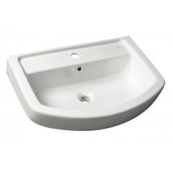 BASIC keramické umyvadlo 50x45cm, bílá
