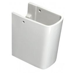 BASIC keramický polosloup, bílá