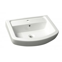 BASIC keramické umyvadlo 60x45cm, bílá