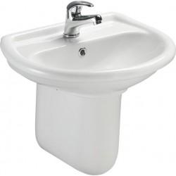 Keramické umyvadlo 50x40cm, bílé